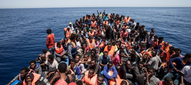The Italian Government fuels the new slave trade and tensions in Libya