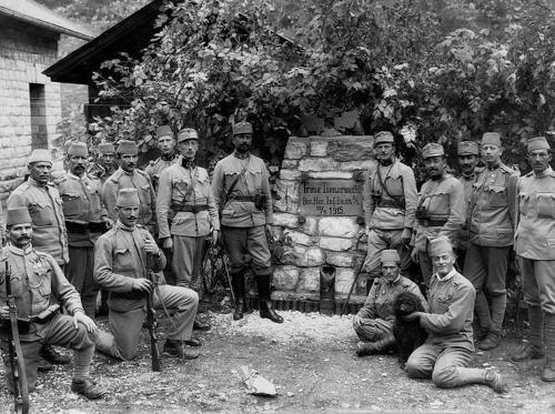 Isonzo front, 1915