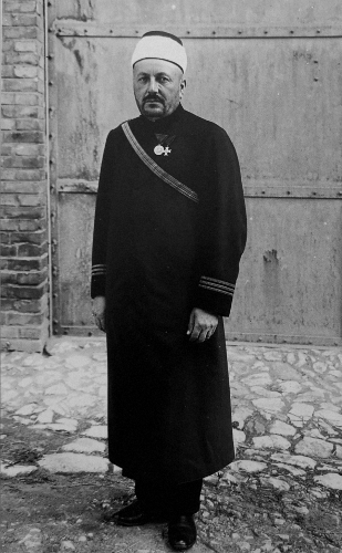 Imam Hafiz Ibrahim Effendi Jahić of the III Infantry Regiment