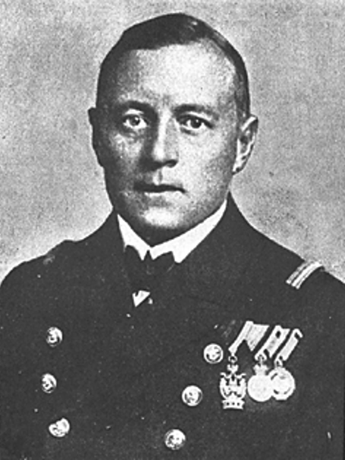 Il comandante Gustav Klasing