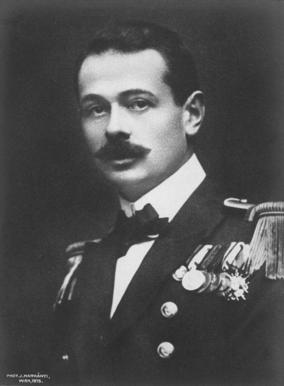 Il comandante Georg Ludwig Ritter von Trapp