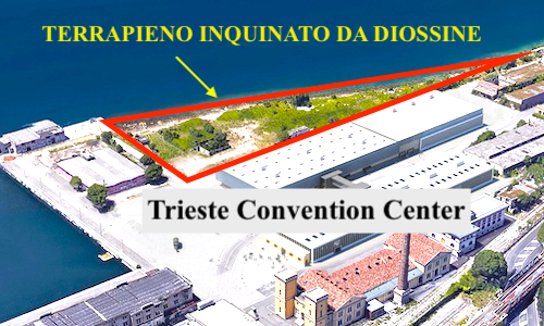 Trieste Convention Center: il Comune ha nascosto anche l'inquinamento da diossine dell'area