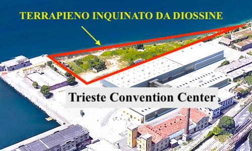 Trieste Convention Center: il Comune ha nascosto anche l'inquinamento da diossine dell'area